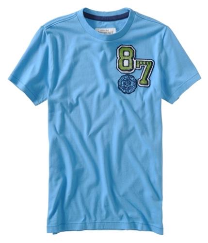 Aeropostale Mens 87 Aero Graphic T-Shirt bluejay M