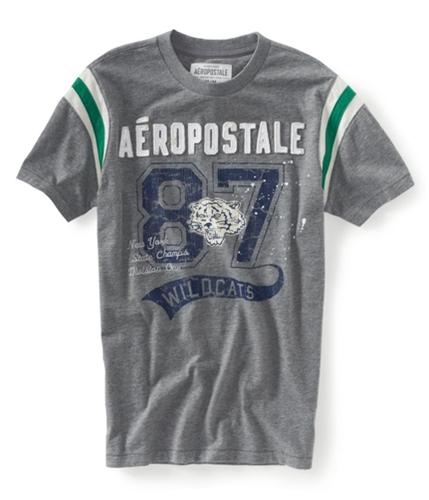 Aeropostale Mens Athletic Graphic T-Shirt medgre XS