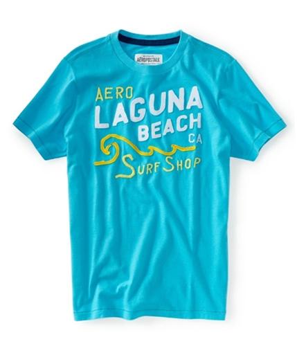 Aeropostale Mens Laguna Beach Graphic T-Shirt brtaqu XS
