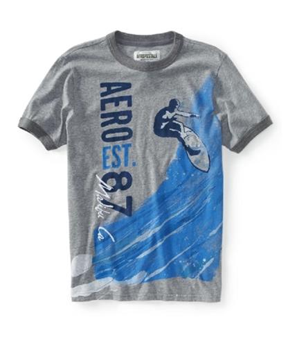 Aeropostale Mens Malibu Ca Sleeve Graphic T-Shirt 052 S