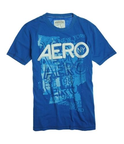 Aeropostale Mens Embellished Aero Graphic T-Shirt 793 XS