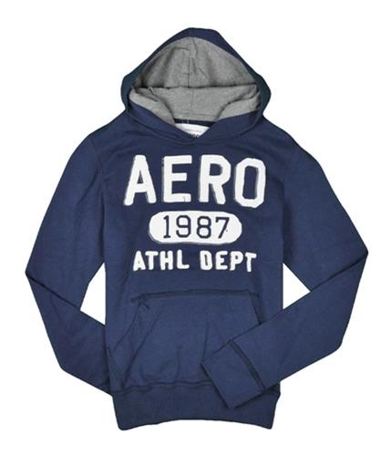 Aeropostale Mens Aero 1987 Hoodie Sweatshirt navyblue XS