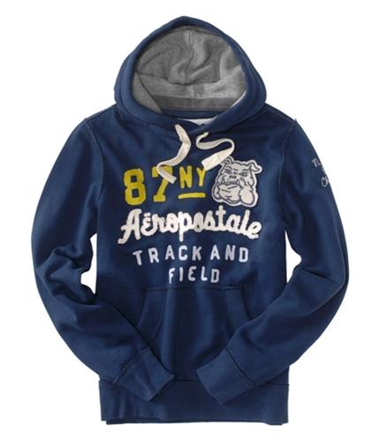 Aeropostale Mens 87 Ny Track Field Hoodie Sweatshirt navyniblue XS