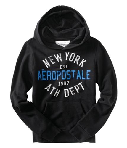 Aeropostale Mens Est 1987 Athletic Dept Hoodie Sweatshirt black XS