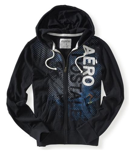Aeropostale Mens Light Weight Hoodie Sweatshirt 001 XS