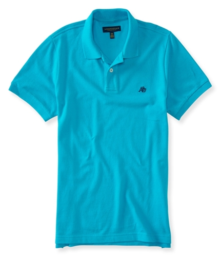 Aeropostale Mens A87 Rugby Polo Shirt 121 XS