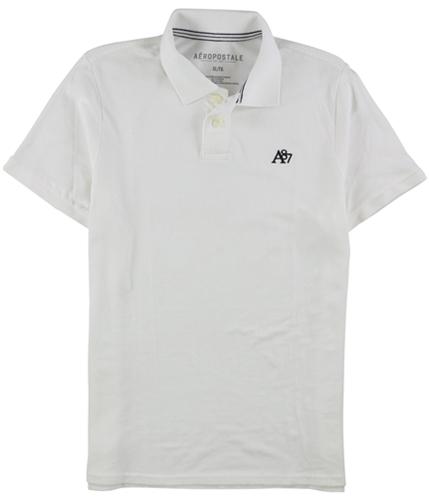 Aeropostale Mens A87 Uniform Rugby Polo Shirt 001 XS