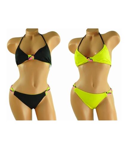 Roxy Womens Swim 2 Piece Bikini bky S