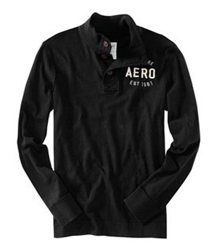 Aeropostale Mens Aero Graphic T-Shirt black XS
