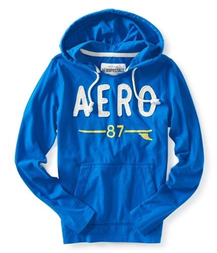 Aeropostale Mens Light Weight Hoodie Sweatshirt active S