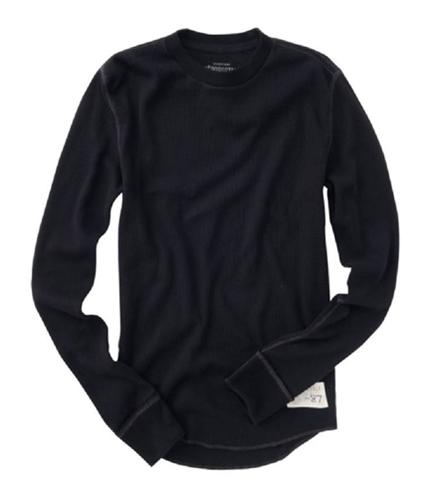 Aeropostale Mens 0 Crewneck Knit Sweater black XS