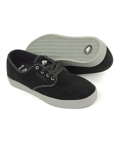 Emerica. Mens By Etnies Laced Skateboard Sneakers blackgrey 11.5