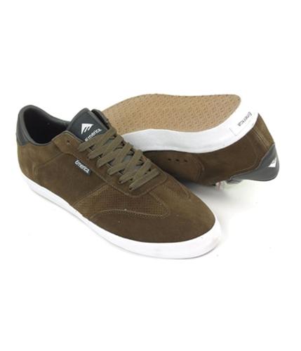 Emerica. Mens By Etnies Trenton Skateboard Sneakers darkbrown 13