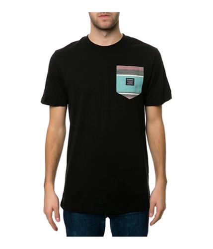 Emerica. Mens The S. West Pocket Embellished T-Shirt black S