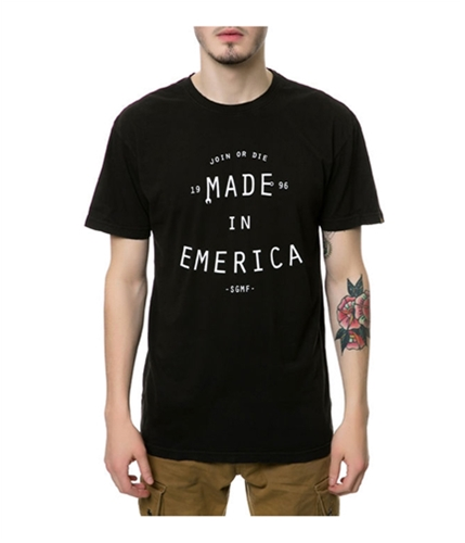 Emerica. Mens the Maintain SGMF Graphic T-Shirt black S