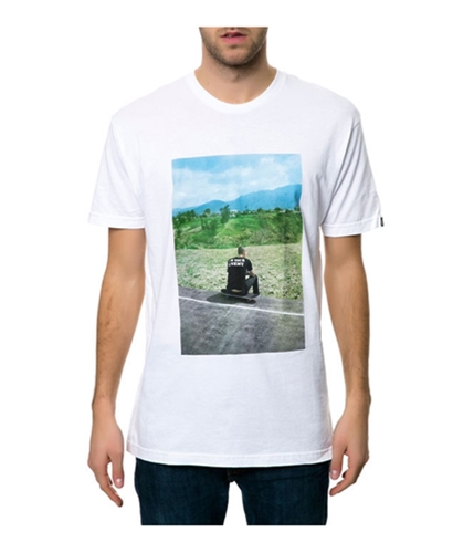 Emerica. Mens The Hsu Made Photo Graphic T-Shirt white M
