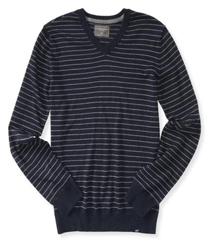 Aeropostale Mens Striped Pullover Sweater 437 S