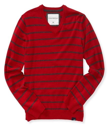 Aeropostale Mens Striped Pullover Sweater 433 L
