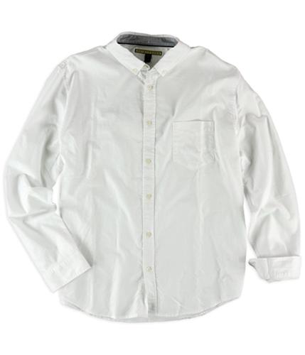 Aeropostale Mens Oxford Pocket Button Up Shirt 451 S