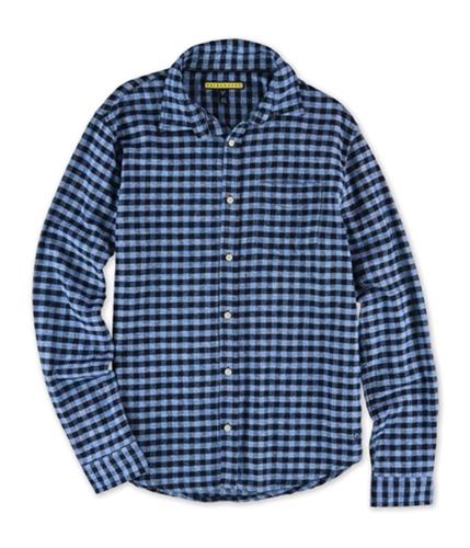 Aeropostale Mens Flannel Button Up Shirt 487 S