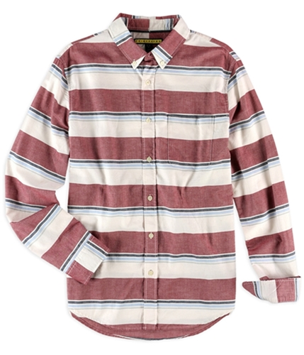 Aeropostale Mens Multi Striped Button Up Shirt 404 S