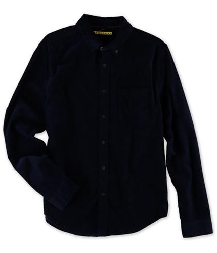 Aeropostale Mens Corduroy Button Up Shirt 404 S