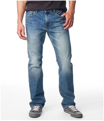 Aeropostale Mens Driggs Slim Boot Cut Jeans medium 27x30