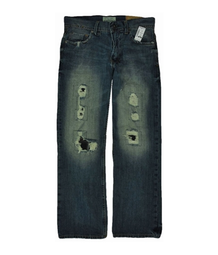 Aeropostale Mens Driggs Low Slim Boot Cut Jeans medium 30x30