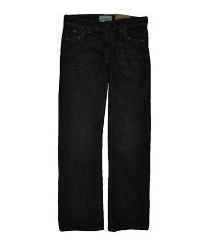 Aeropostale Mens Driggs Slim Fit Boot Cut Jeans dark 27x28