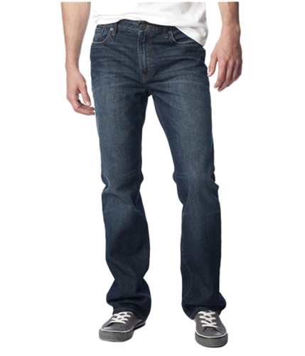 Aeropostale Mens Driggs Boot Cut Jeans dkwash 27x28