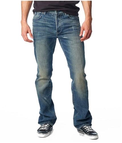 Aeropostale Mens Flat Back Pocket Slim Fit Jeans medium 27x28