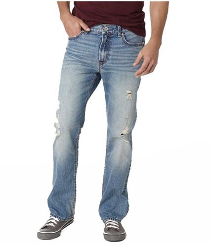 Aeropostale Mens Slim Boot Cut Jeans medium 27x28