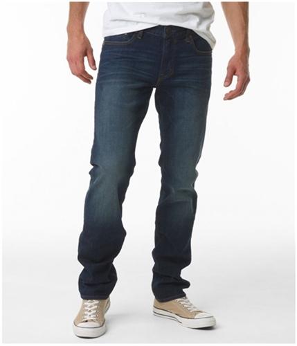 Aeropostale Mens Bowery Straight Slim Fit Jeans 189 27x28