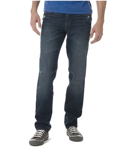 Aeropostale Mens Bowery Straight Slim Fit Jeans 189 30x30