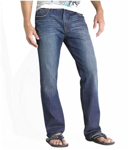 Aeropostale Mens Essex Straight Leg Jeans medium 27x28
