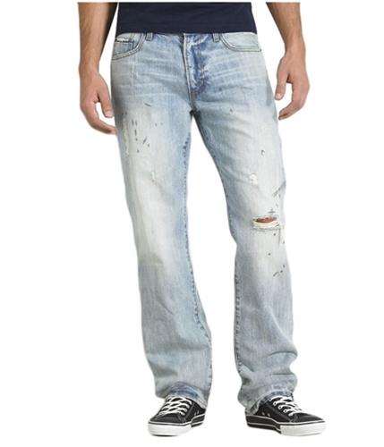 Aeropostale Mens Essex Relaxed Straight Leg Jeans ltwash 27x28