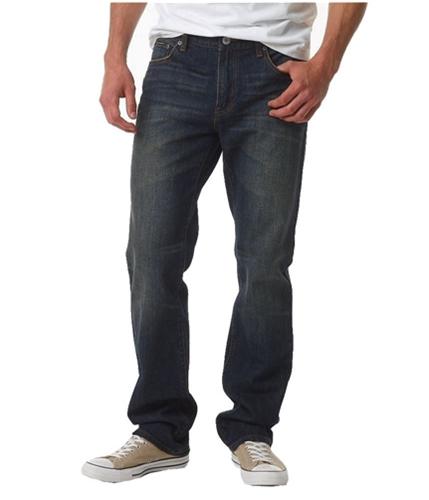 Aeropostale Mens Essex Medium Wash Straight Leg Jeans medium 27x28