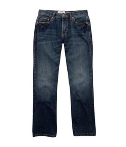 Aeropostale Mens Original Boot Cut Jeans dkwashblue 38x30