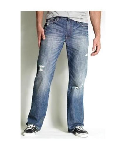 Aeropostale Mens Original Distressed Painter Boot Cut Jeans medium 28x28