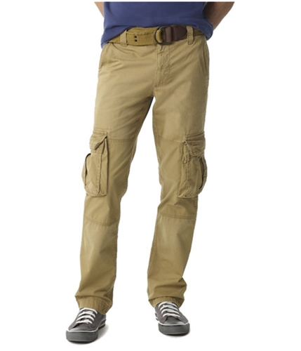 Aeropostale Mens Belted Classic Cargo Casual Chino Pants 289 28x30
