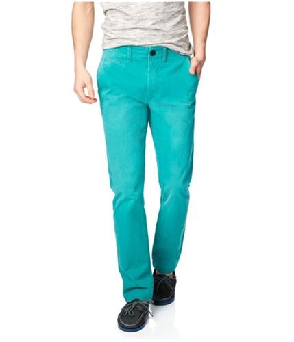 Aeropostale Mens Slim Straight Color Casual Chino Pants 238 27x28
