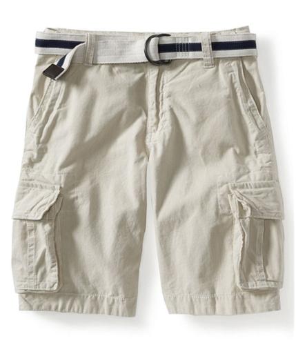 Aeropostale Mens Pin Stripe Casual Cargo Shorts 238 27