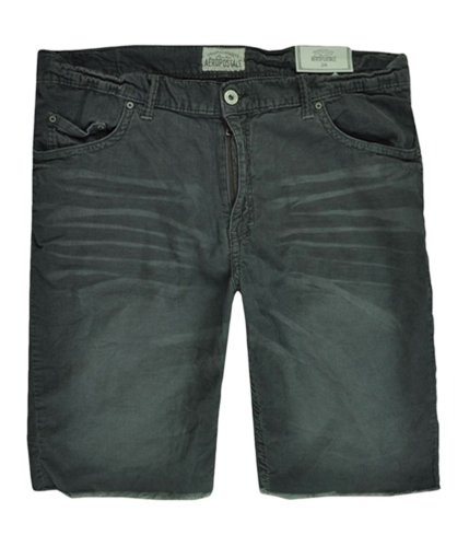 Aeropostale Mens Corduroy Cut-off 5 Pocket Casual Walking Shorts eclipsegray 38