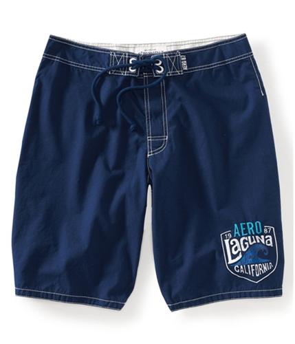 Aeropostale Mens Back Pocket Swim Bottom Board Shorts 413 28