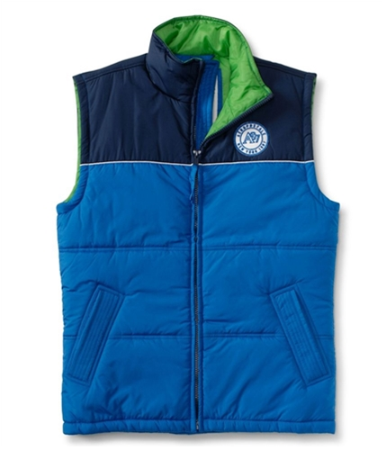 Aeropostale Mens A87 New York Puffer Sweater Vest active XS