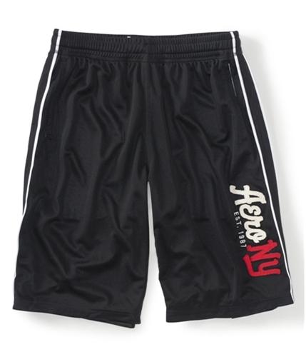 Aeropostale Mens Aero Ny Lined Basketball Athletic Walking Shorts 001 S