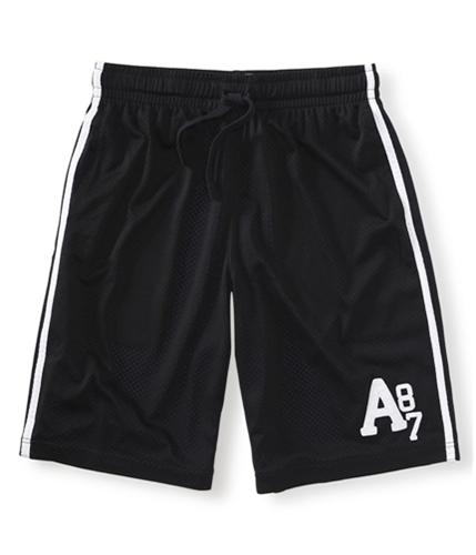 Aeropostale Mens Mesh Lined Basketball Athletic Walking Shorts 001 XS