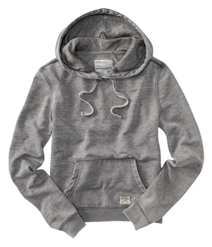 Aeropostale Womens New York Hoodie Sweatshirt mediumgray XS