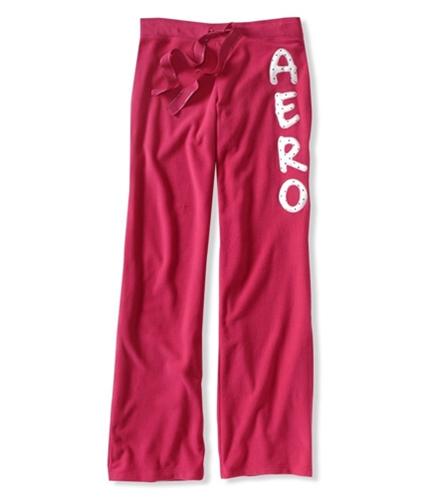 Aeropostale Womens Lightweight Fleece Pajama Sweatpants pinkbl XXS/32