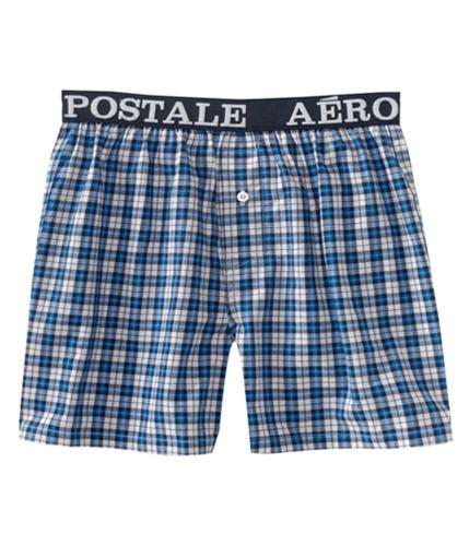Aeropostale Mens Checkered Underwear Boxers serene L